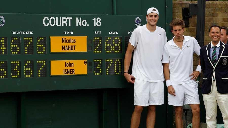 Rekorları Kıran Tenis Maçı