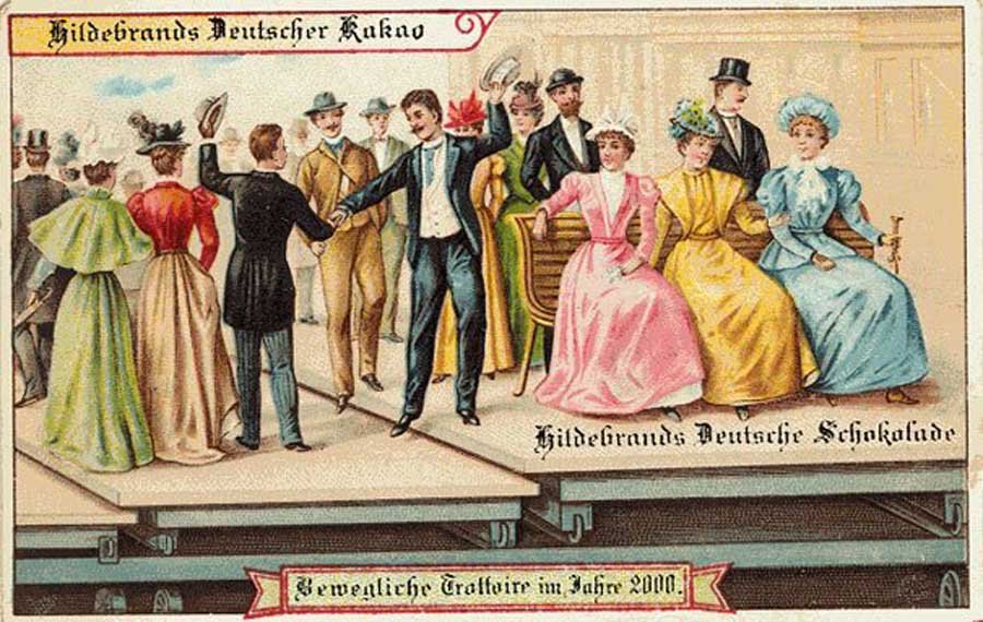 1900'lü Yıllardan Kalma Geleceğe Dair Tahmin İçeren Kartpostallar