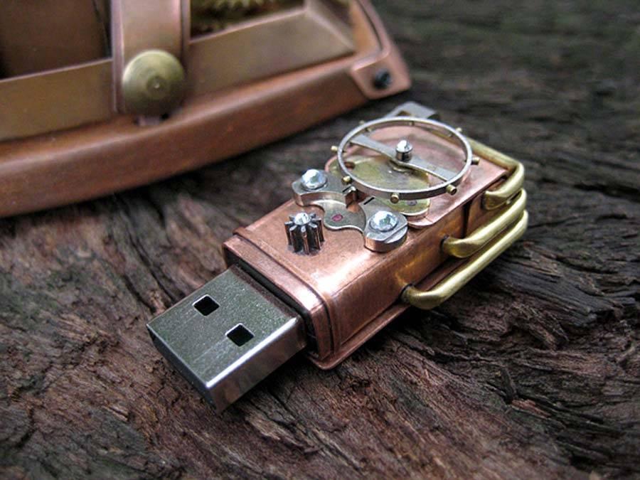 19. Yüzyıldan Kalma Mouse ve USB