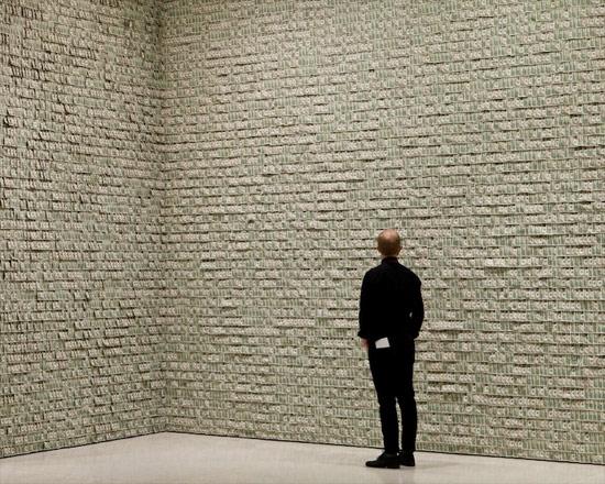 100 Bin Adet 1 Dolar Müzede Sergilendi