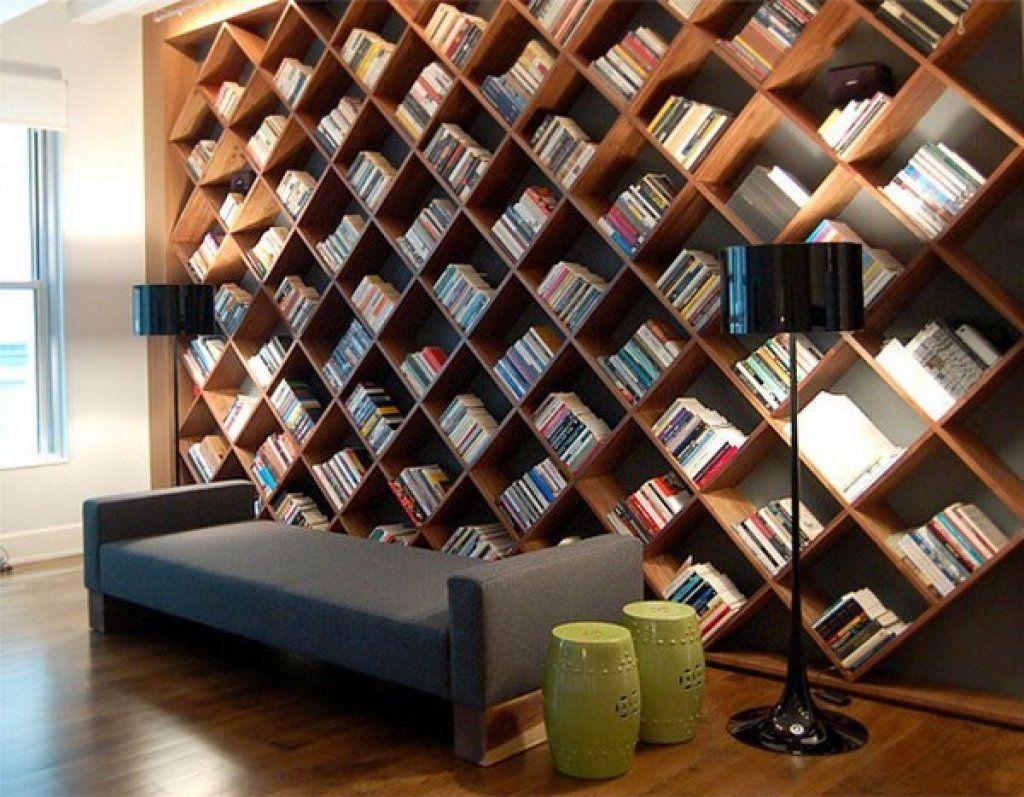 Yaratıcı ve İlginç 20 Kitaplık Tasarımı