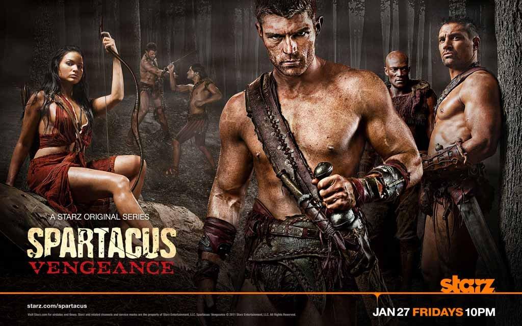 Spartacus: Vengeance'in Yeni Fragmanı ve Yayın Tarihi