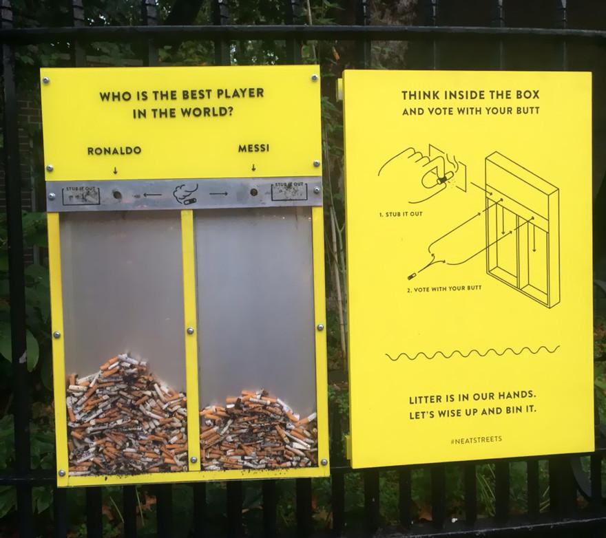Yerlere Çöp Atmayı Engelleyebilecek İlginç Fikirler