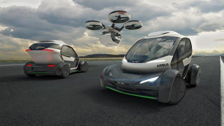 Uçan Arabalar Gerçek Oluyor: Airbus'tan Drone / Otomobil Pop.Up