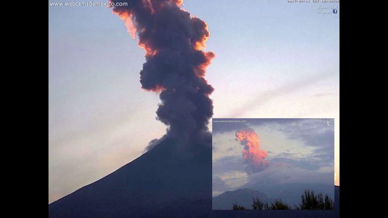 Meksika'daki Volkanlar Durmak Bilmiyor: Popocatepetl Yanardağı'nın Görüntüleri