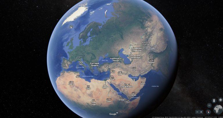 Google Earth Yeniden Doğdu